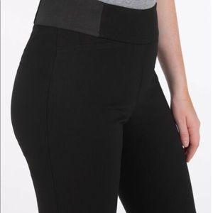 Shinestar Rickis Style Black Stretch Pants